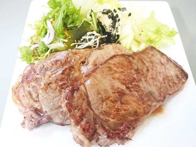 NZ産ホルモンフリー牧草牛リブロースステーキ
