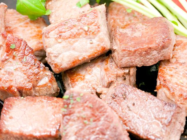 NZ産ラム肉噛む噛むサイコロステーキ用 180g真空パック